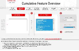 Cumulative Feature Overview Enhanced