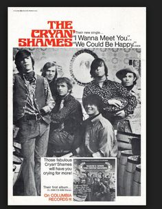Cryan' Shames Poster from Columbia Records