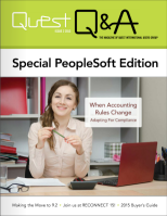 PeopleSoft RECONNECT 2015